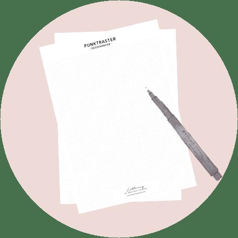 Lettering Punktraster Download