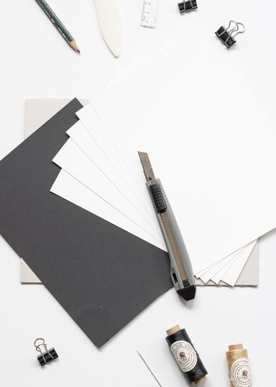 DIY Lettering Skizzenheft Anleitung, Schritt 1