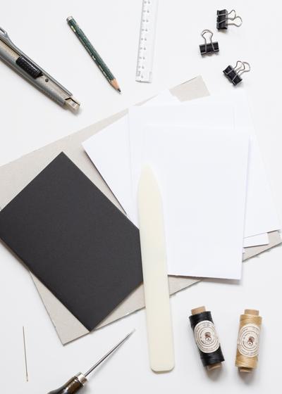DIY Lettering Skizzenheft Anleitung, Schritt 2
