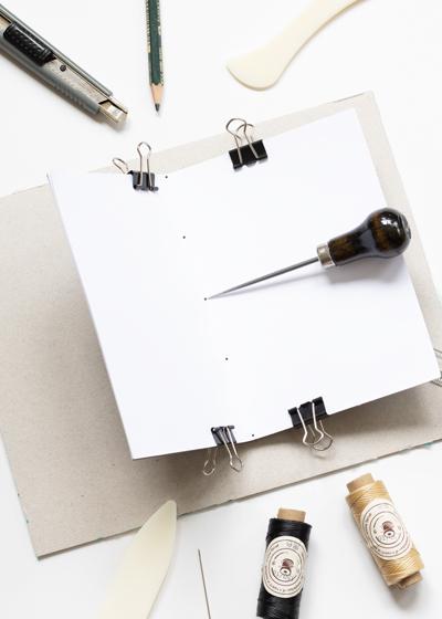 DIY Lettering Skizzenheft Anleitung, Schritt 4