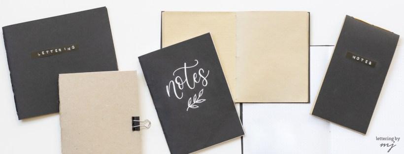 Notizbücher selber machen
