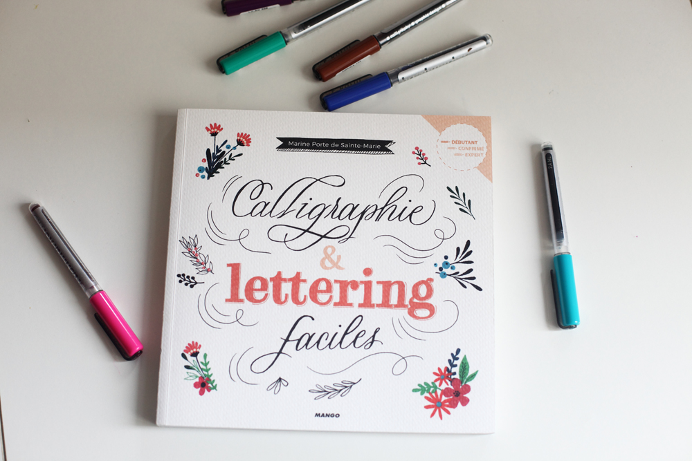 livre sur la calligraphie et le lettering