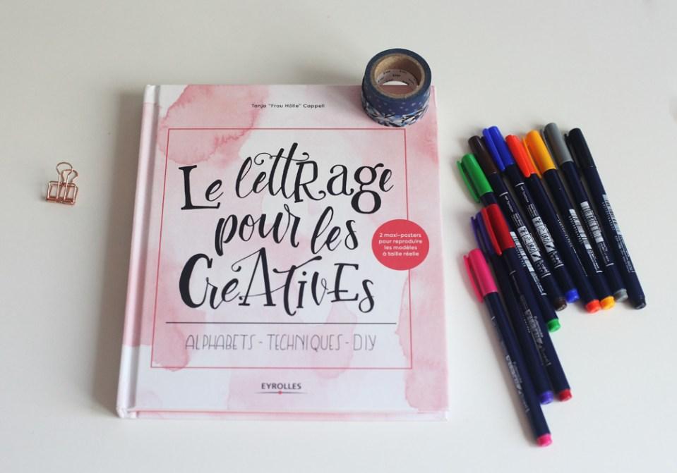 Le lettrage pour les créatives (couverture)