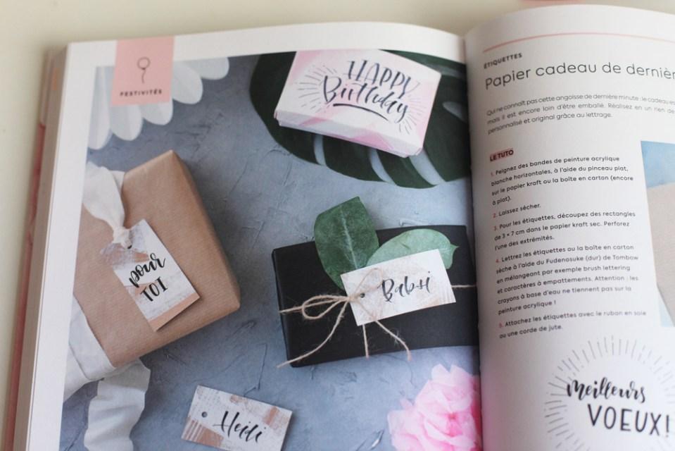 Lettering et DIY