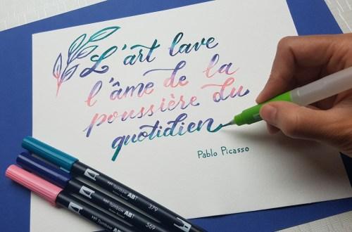 Citation de Picasso sur l'art