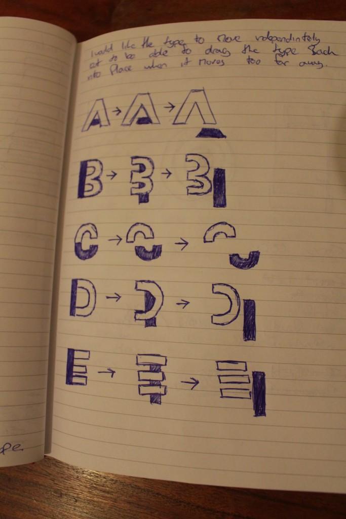 Daniel Britton Dyslexia Font Design