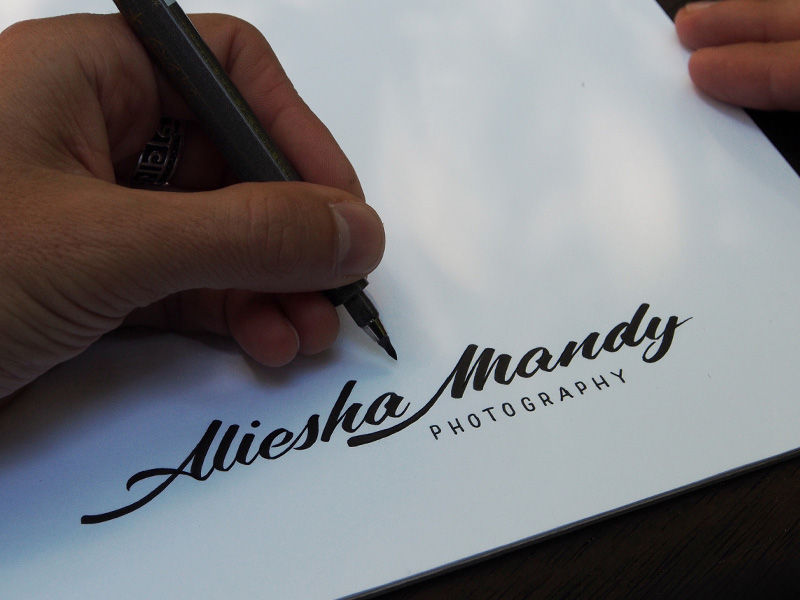 Matt Vergotis Aliesha Mandy - Lettering Tutorial