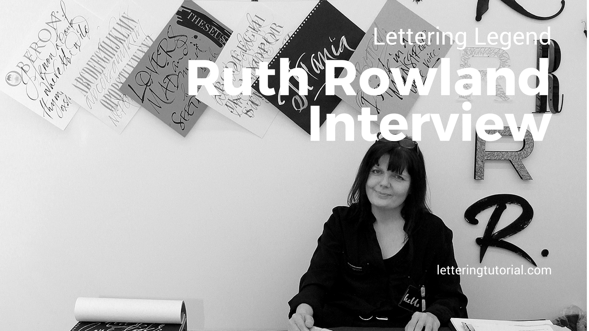 Lettering Legend Ruth Rowland Interview