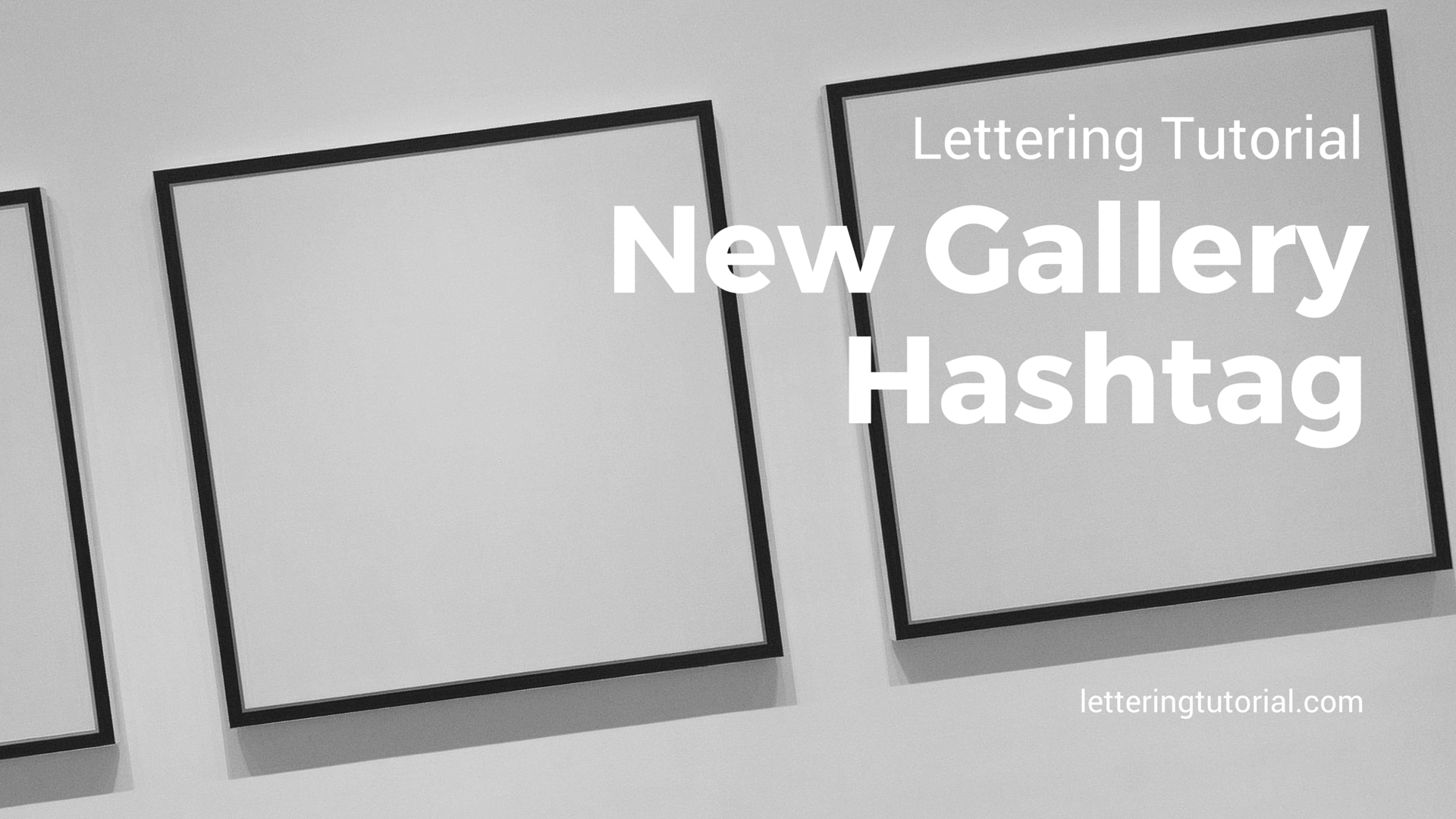 Lettering Tutorial New Gallery Hashtag