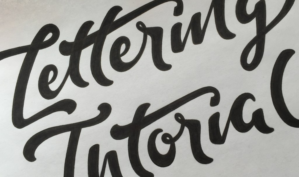 Lettering Smooth Edges - Lettering Tutorial