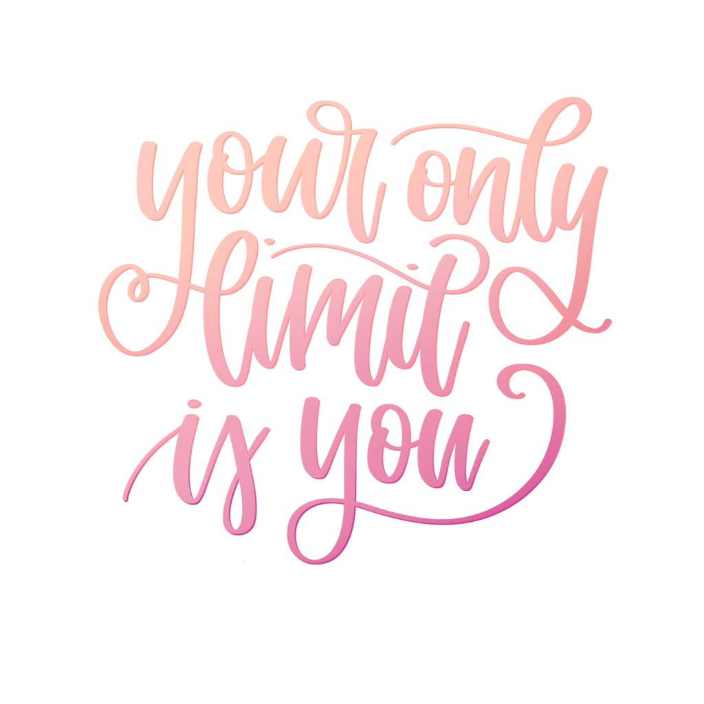 Karin Newport Your Only Limit Is You - Lettering Tutorial