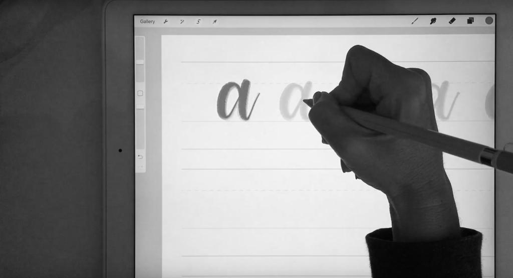 Karin Newport iPad Lettering - Lettering Tutorial