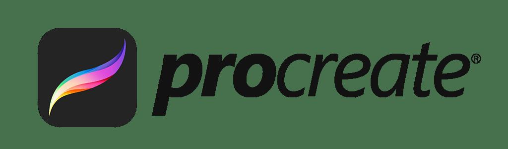 Procreate Lockup Black Logo - Lettering Tutorial
