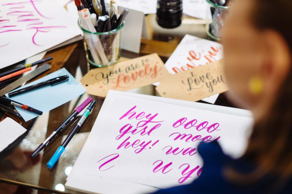 The Letterettes Work - Lettering Tutorial