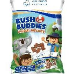 Girl Guide Bush Buddies Biscuits