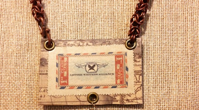 Guest Post: Creating Stamp Jewelry by Sara Glassman