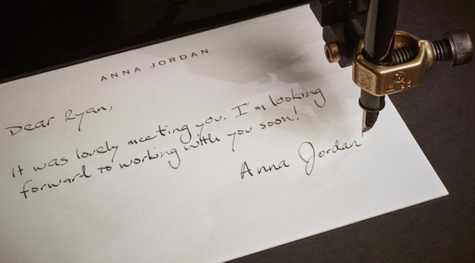 Would You Let A Robot Write Your Letters?