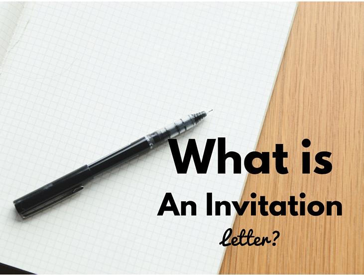 invitation letter definition