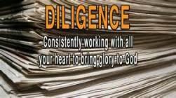 diligence