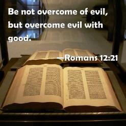 overcome evil