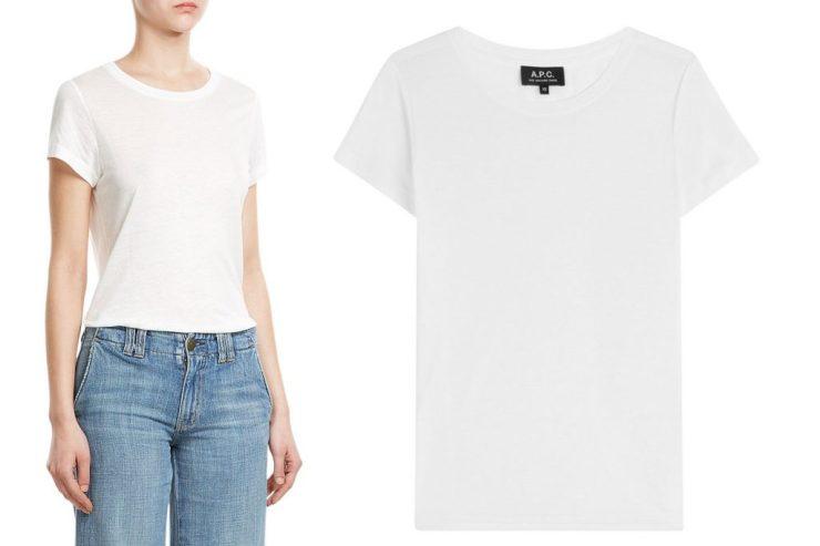 letters&beads-Keypieces-APC-T-shirt-mit-Leinen
