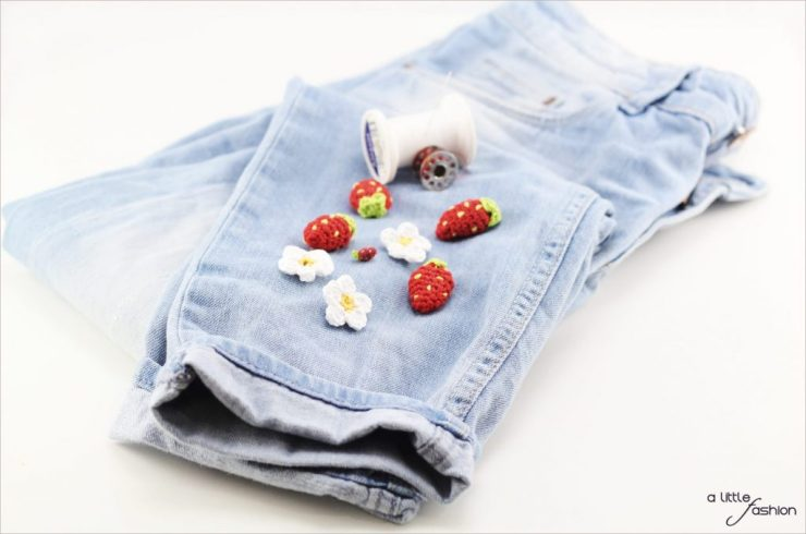 alittlefashion_diy_jeans_erdbeer-patch_gehaekelt1