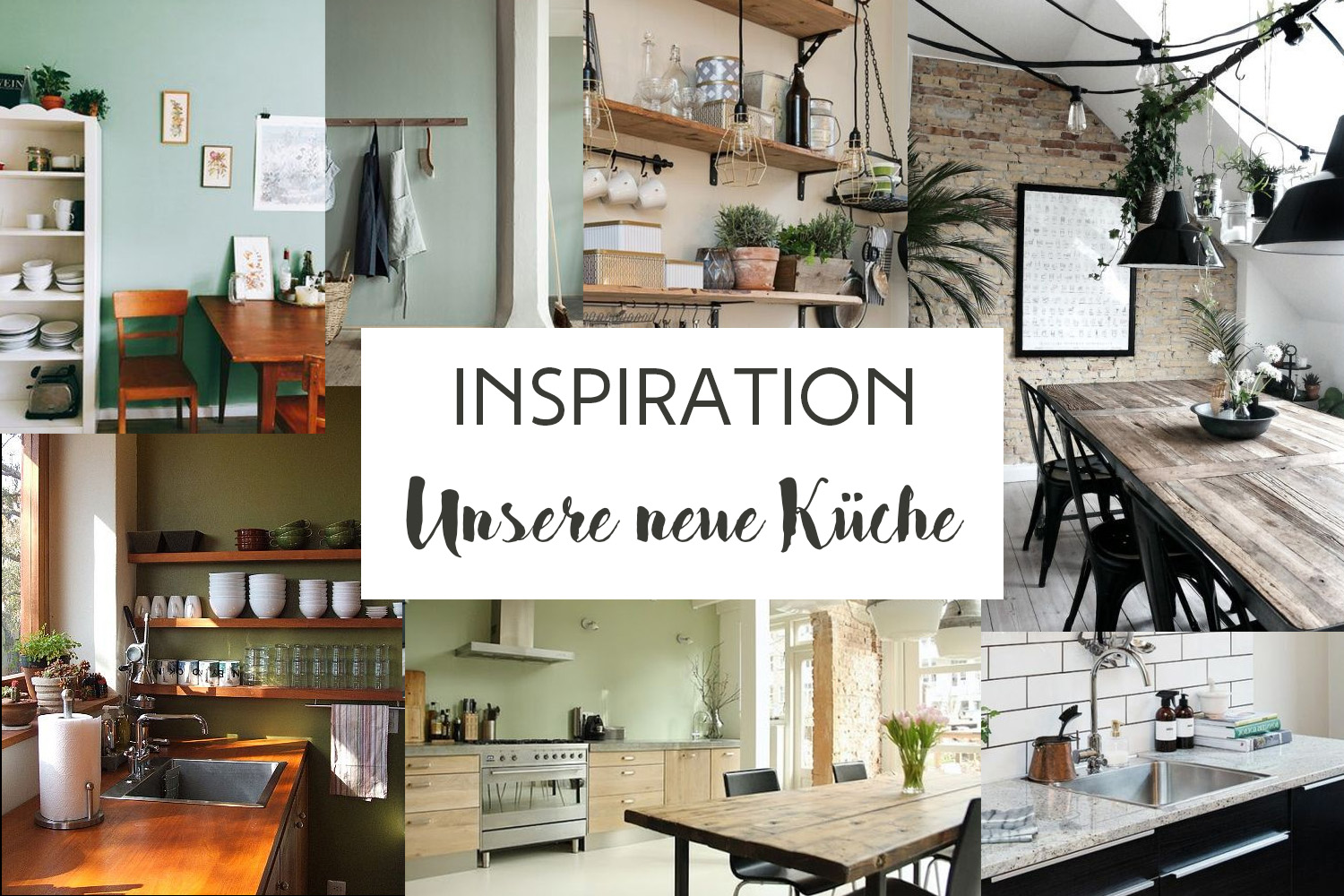 Inspiration: Unsere neue Küche - Letters & Beads