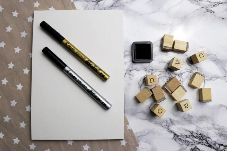 letters-and-beads_diy-grusskarten-mit-stempeln-gestalten_lackmarker-pilot-stempel-kissen-sterne