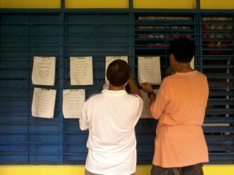 GSIS Heights Elementary School - Voters master list