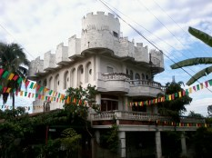 The castle within GSIS Heights