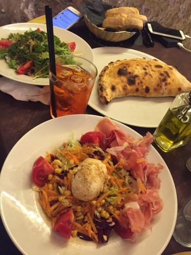 Food at Cafe Yefe