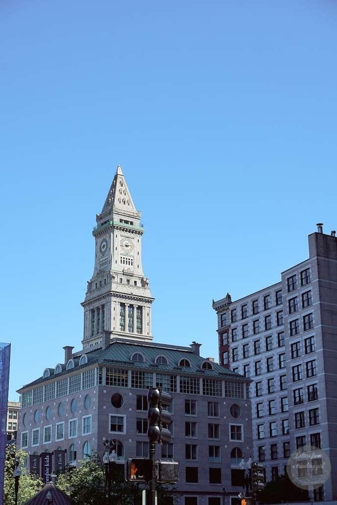 Belltower in Boston
