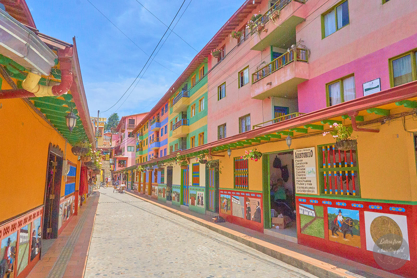 colombia itinerary