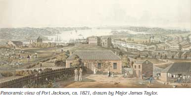 0710p26-Panoramic-view-of-Port-Jackson-c1821
