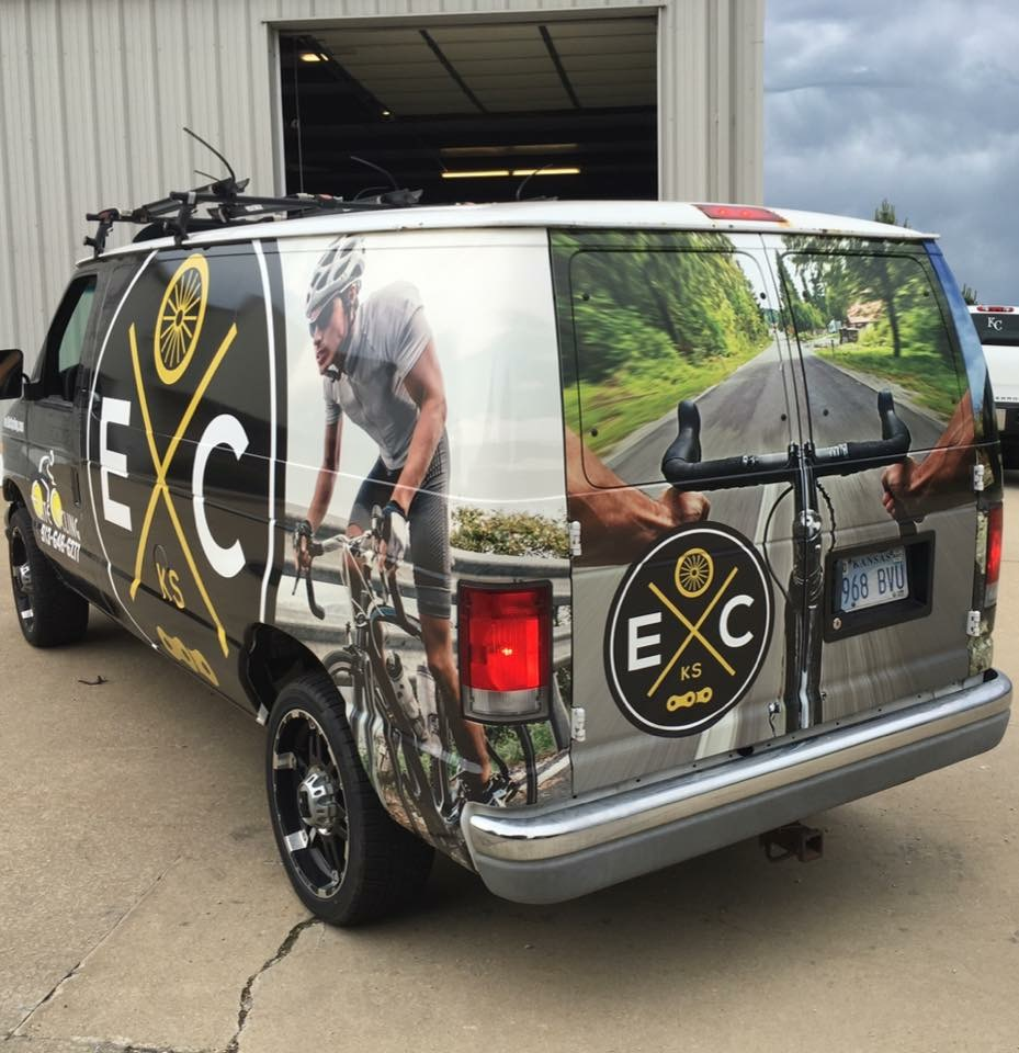 brand and vehicle graphics stand out