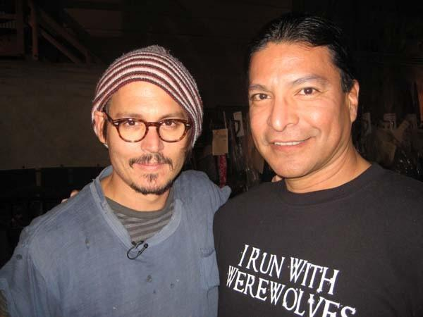 Even Johnny freakin' Depp appreciates Gil!