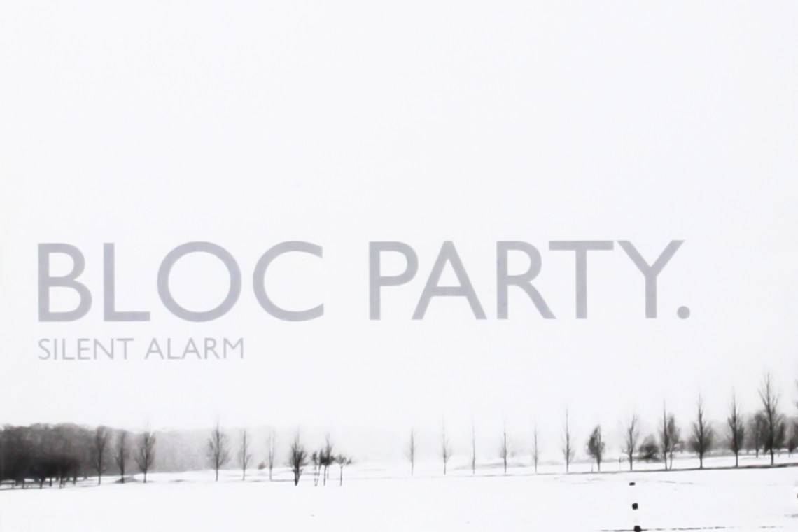 L'album de la semaine : Silent Alarm - Bloc Party