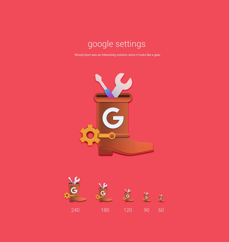 google settings Toy Story