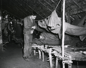 WWII Soldiers Suffering From Malaria