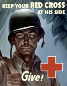 Red Cross Poster, WWII