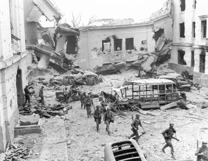 US Attacks Japanese In Manila