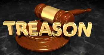 Treason Law Concept 3D Illustration