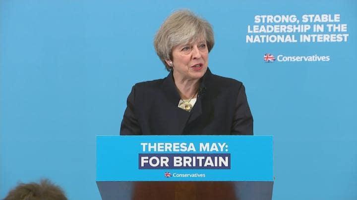 Theresa May's Weird Winning Strategy