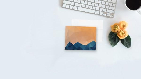 colorado gift notecard mountain