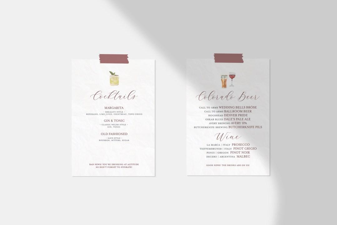 Custom-Wedding-Watercolor-Bar-Menu-Signature-Cocktails