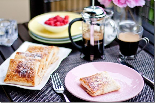 This recipe for Apricot Cream Cheese Chimichangas is a perfectly delicious time saver. It not only comes together quickly, but the crispy fried outer tortilla that encases the warm and delicious filling of jam and cream cheese always makes you want to eat more of them than you should