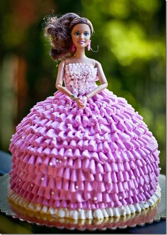 Barbie Doll Cake Let The Baking Begin