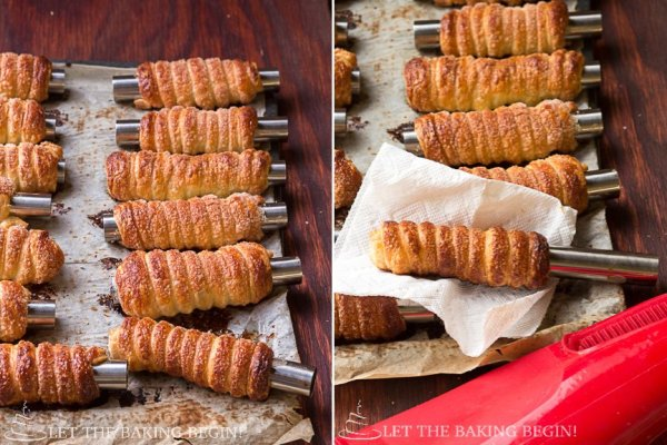 Puff Pastry Cream Horns with Luscious White Cream and Raspberries, crispy on the outside, nice and creamy on the inside these Cream Horns are a hit every single time!