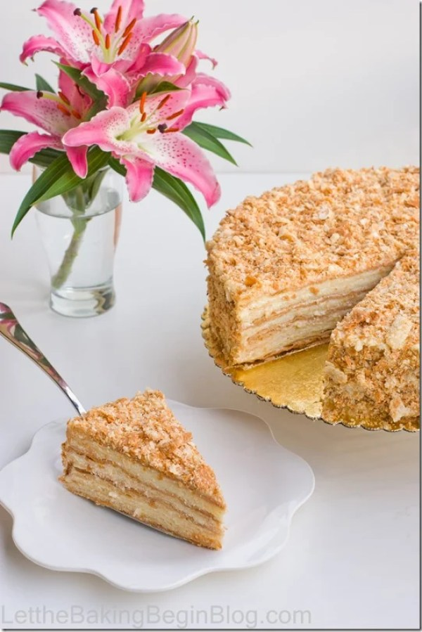 This Napoleon cake comes out soft, moist and delicious! No more buying puff pastry for this cake, because you can now make it yourself at home.