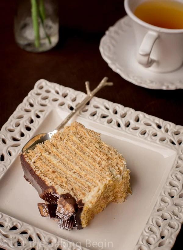 No-Bake Honey Cake is a quick dessert recipe to enjoy.